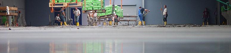 Maier Fussbodenbau Beton glätten